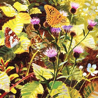 Botanic Gold  NEW !  card range : BB22 Silver Washed Fritillary