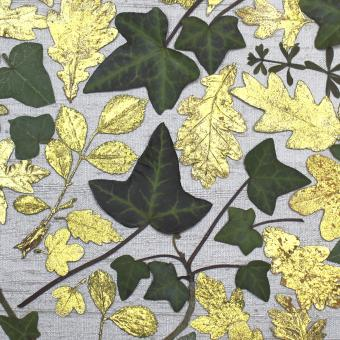 NEW ! BOTANIC GOLD  card range : FP 25  Ivy Collage