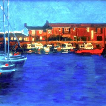NEW ! BOTANIC GOLD  card range : LD44 NEW! LymeRegis Harbour