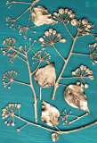 Botanic Gold  NEW !  card range : BG 02  IVY