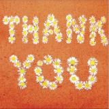 Flower Press -all seasons card range : NEW!  FP 31  Thank You