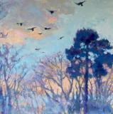 Landscapes card range : LD 49  NEW! Home to Roost