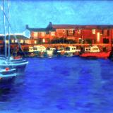 Landscapes card range : LD44 NEW! LymeRegis Harbour